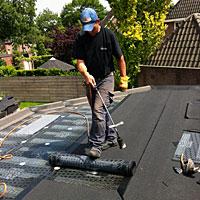 We hebben ons helemaal gespecialiseerd op platte daken