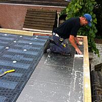Bij nieuwbouw zijn wij u perfecte partner voor platte daken.