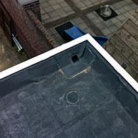 Een vakkundige inspectie van het dak is belangrijk