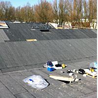 onderhoud van platte daken